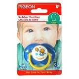 PIGEON Rubber Pacifier EG1 Olive Flower P [PR050702] - Dot Bayi / Pacifier & Teethers